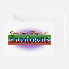 Mi Raza de Zacatecas Greeting Card