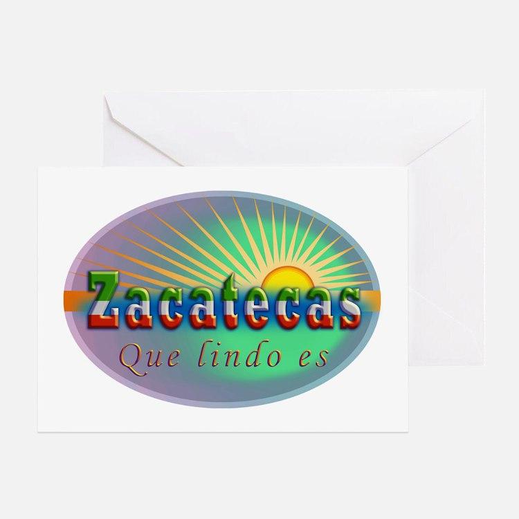 Zacatecas Que Lindo Greeting Card
