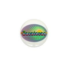 Zacatecas Que Lindo Mini Button
