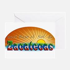 Naci en Zacatecas Greeting Card