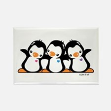 Penguins (together) Rectangle Magnet