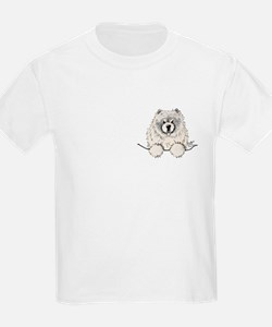 Cream Pocket Chow Chow T-Shirt