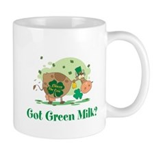 Lucky Irish Got Green Milk Mug