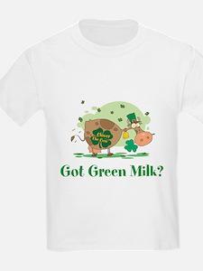 Lucky Irish Got Green Milk T-Shirt
