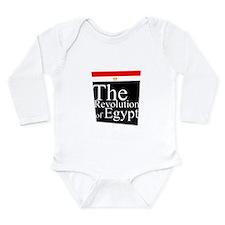 The revolution of Egypt 1 Long Sleeve Infant Bodys
