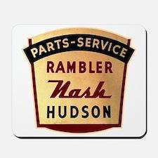 Nash Rambler Hudson Service Mousepad