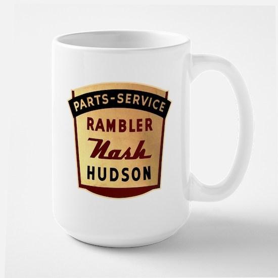 Nash Rambler Hudson Service Large Mug