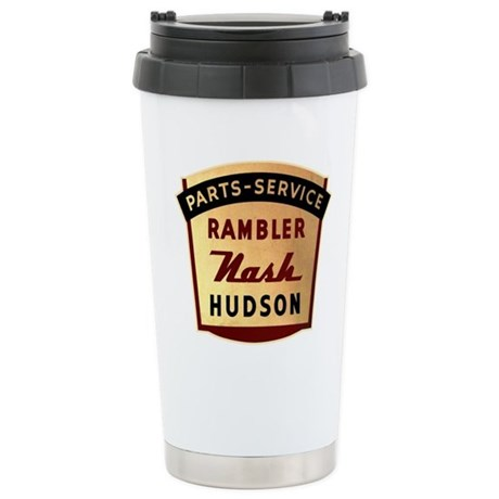 Nash Rambler Hudson Service Stainless Steel Travel