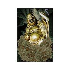 420 BUDDHA Rectangle Magnet