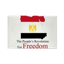 The revolution of Freedom Rectangle Magnet (10 pac