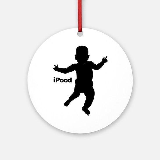 iPood Ornament (Round)