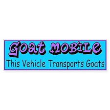 GOATS-Goat Mobile Bumper Bumper Sticker