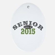 Senior Class of 2015 Ornament (Oval)