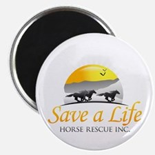 Save A Life Horse Rescue Magnet