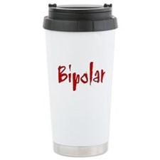 Red Bipolar Travel Mug