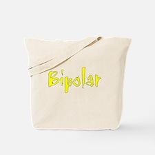 Yellow Bipolar Tote Bag