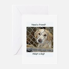 Love a dog Greeting Cards (Pk of 10)