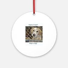Love a dog Ornament (Round)