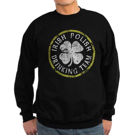 Irish Polish Drinking Team Sweatshirt (dark)