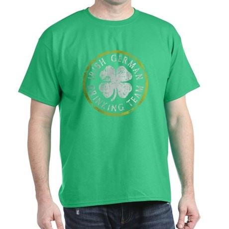 Irish German Drinking Team Dark T-Shirt