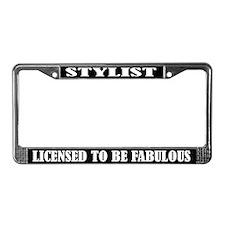 Stylist License Frame
