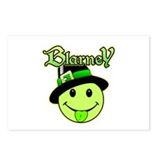 Blarney Smiley Face Postcards (Package of 8)