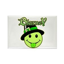Blarney Smiley Face Rectangle Magnet
