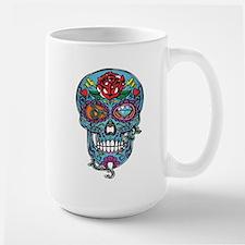 Skull & Rose Large Mug