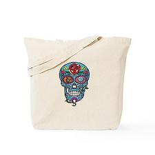 Skull & Rose Tote Bag