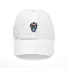 Skull & Rose Baseball Cap