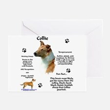 Collie 2 Greeting Cards (Pk of 10)