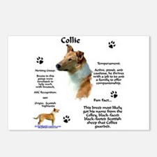 Collie 2 Postcards (Package of 8)
