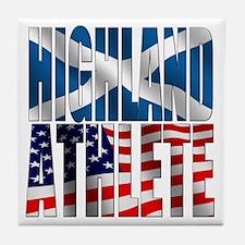 Highland Athlete Tile Coaster