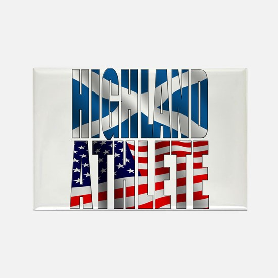 Highland Athlete Rectangle Magnet