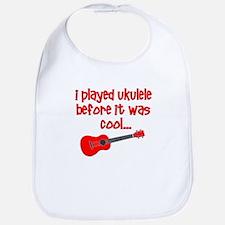funny ukulele Bib