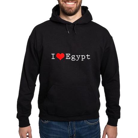 I love Egypt 2 Hoodie (dark)