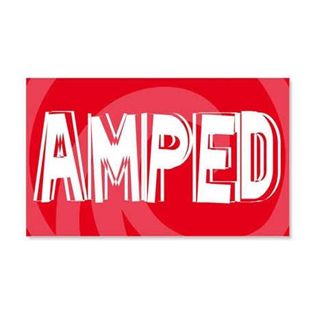 Amped 20x12 Wall Decal