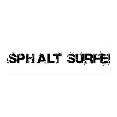 Asphalt Surfer 36x11 Wall Decal