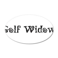 Golf Widow Wall Decal