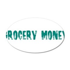 Grocery Money Wall Decal