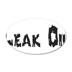 Leak Oil Wall Decal