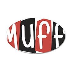 Muff Wall Decal