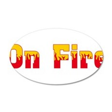 On Fire Wall Decal