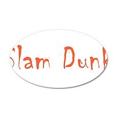 Slam Dunk Wall Decal