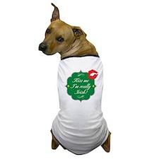 Cute Irish girls Dog T-Shirt