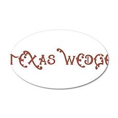 Texas Wedge Wall Decal