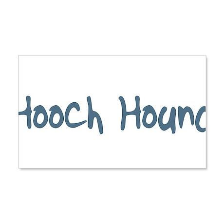 Hooch Hound 22x14 Wall Peel