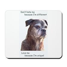 Unique dogs Mousepad