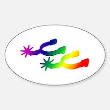 Spurs Sticker (Oval)