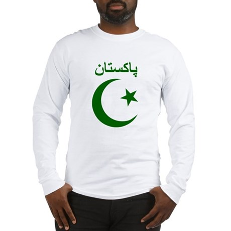 Pakistan Script Long Sleeve T-Shirt